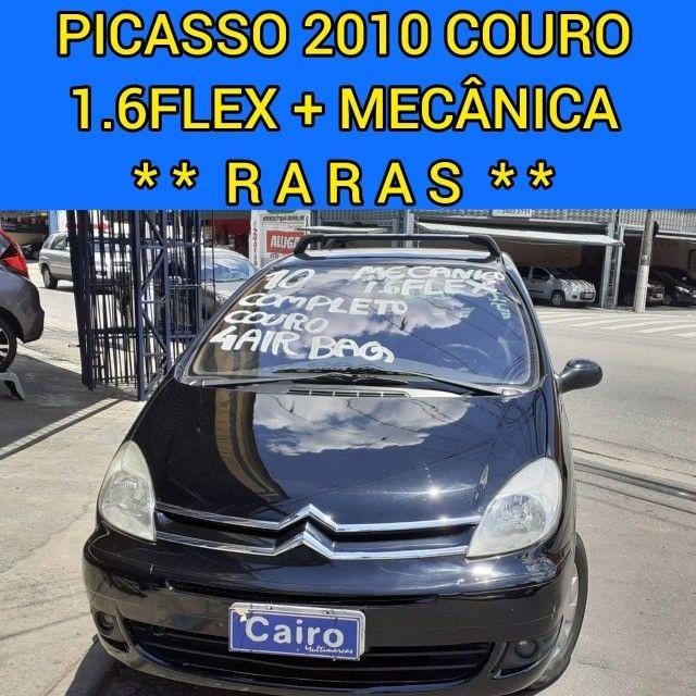 Citroen Xsara Picasso Exclusive 2010 1.6 flex completa couro ar condicionado