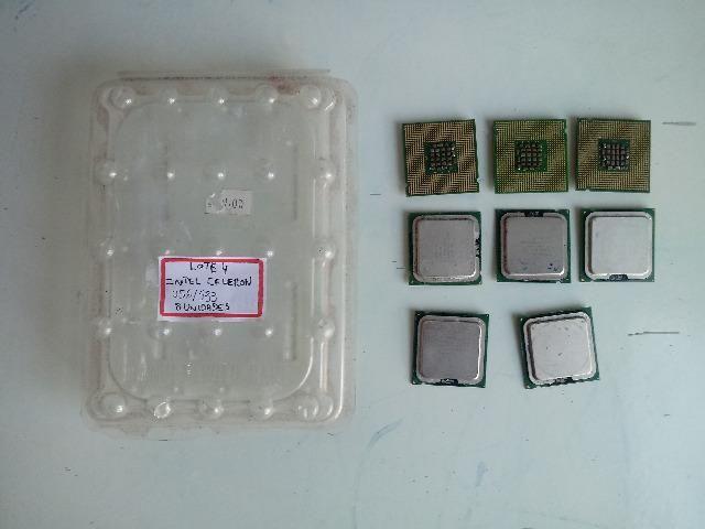 Processador Celeron 256/533 C/ Defeito