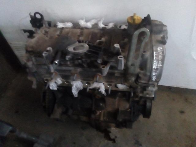 Motor parcial Renault Symbol 1.6 16v a base de troca!