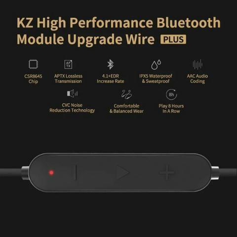 Cabo Bluetooth para fones Kz - Foto 6