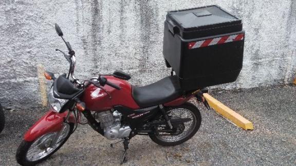Honda Cg 125cc Fan Ks com baú