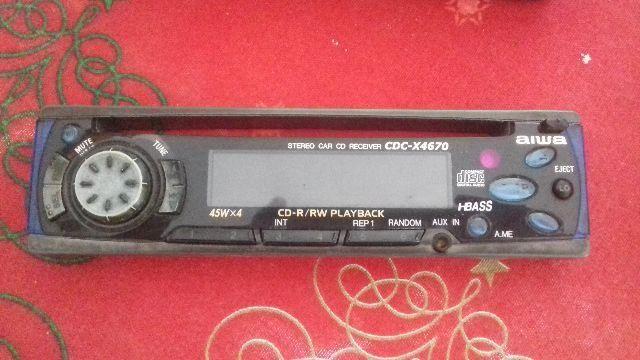 Frente de som auto Aiwa CDC-X4670
