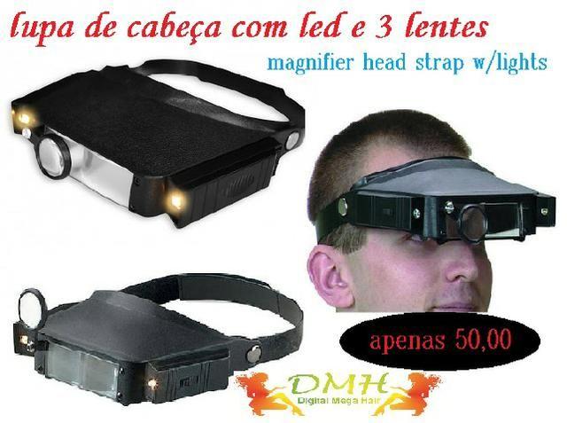 7bfeb5768d64e Lupa Óculos Lentes De Aumento - Luz Focada - Computadores e ...