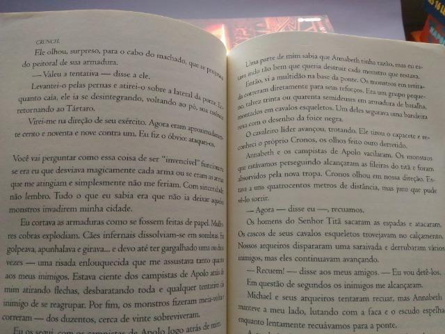 Livros Percy Jackson e Os Olímpianos