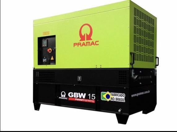 Gerador a diesel Pramac GBW15 - Foto 3