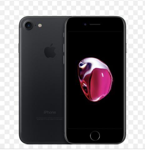 Vendo iPhone 7, preto! Não negocio, não troco, só vendo