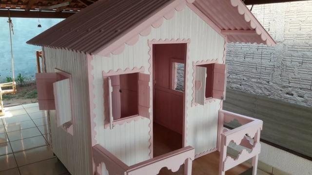 Casinha de Madeira Infantil - Foto 4