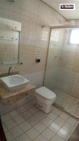 Apartamento com 3 dormitórios para alugar, 112 m² por r$ 1.405,00/mês - plano diretor sul  - Foto 14
