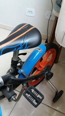 Bicicleta Caloi Hotwheels Aro 16 - Foto 3