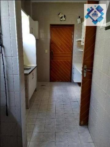 Apartamento no 3º andar, varanda, ampla sala em L, bairro jacarecanga. - Foto 3