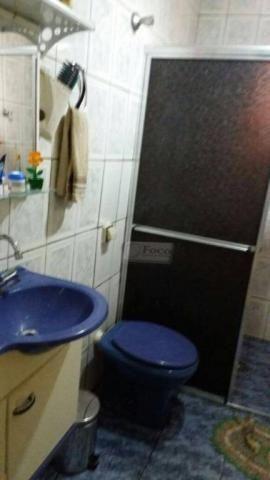 Sobrado com 4 dormitórios à venda, 112 m² por R$ 300.000,00 - Parque Piratininga - Itaquaq - Foto 11