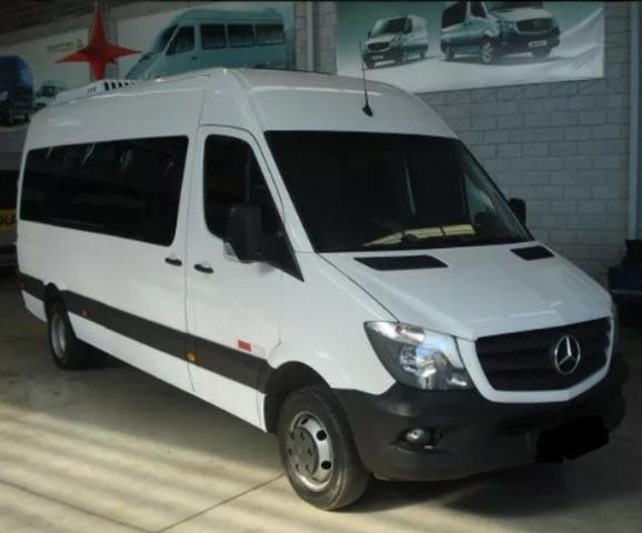 MB Sprinter Van Luxo 2016 com parcelas