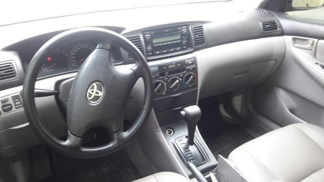 Corolla xli 1.8 aut banco couro - financio em até 48× - Foto 3