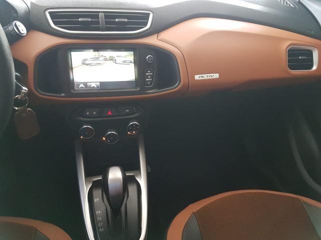 Gm - Chevrolet Onix 1.4 Active,Automático,unico dono,com 8.000 km na garantia de fabrica - Foto 15