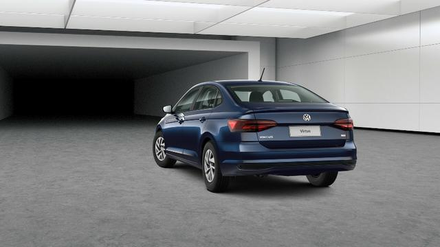 Barigui - Volkswagen Virtus 1.6 MSI para Taxista isenção IPI+ICMS - Foto 3