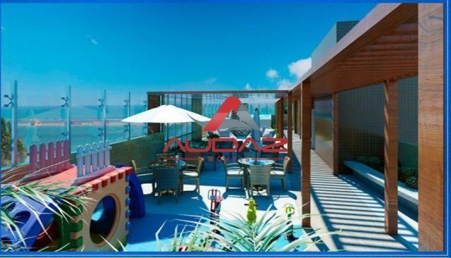 Apartamento à venda com 1 dormitórios em Ponta de campina, Cabedelo cod:1500 - Foto 7