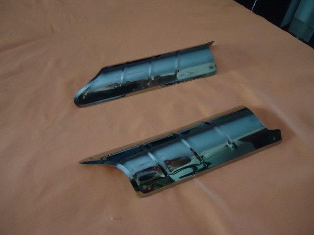 Acessório bate pé de coluna do fusca ( inox ) - Foto 5