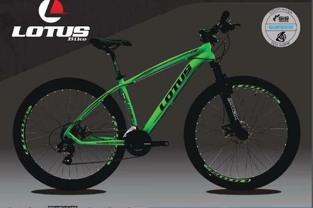 Bicicleta aro 29 Lotus alumínio//quadro tam:19
