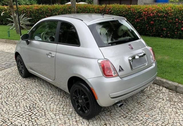 Fiat 500 cult 1.4 flex 2012 mecânico 2020 pago oportunidade - Foto 4