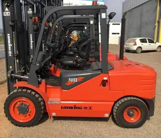 Empilhadeira Lonking Lg40 Nova Diesel, 4 Ton, Torre Padrão - Foto 6