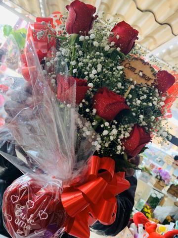 Flores buquês cestas - Foto 6