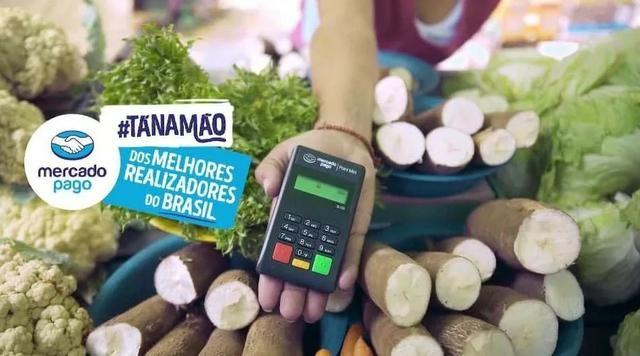 Máquina De Cartão Débito E Crédito Point Mini - Mercado Pago - Foto 5