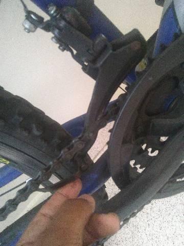 Bicicleta Caloi Usada (leia a descrição) - Foto 2