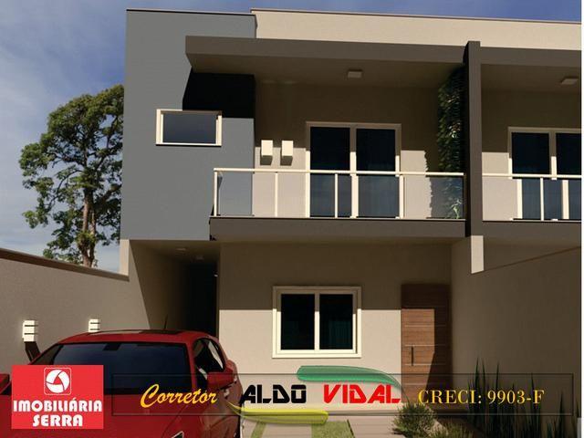 ARV 105. Casa 3 Qtos, Varanda, Suíte, Churrasqueira, Quintal Grande, Morada de Laranjeiras - Foto 2