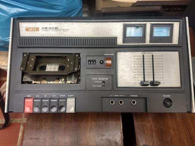 Tape Deck Akai Modelo CS-30D ( leia o anuncio ) - Foto 2