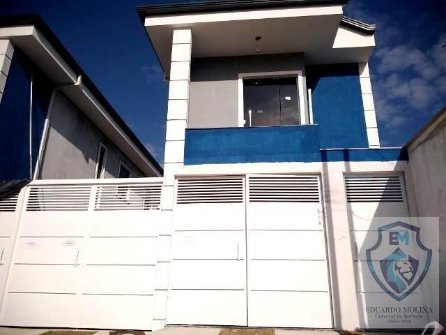 Linda casa 3 quartos Guarujá Mansões R$225.000,00 - Foto 2