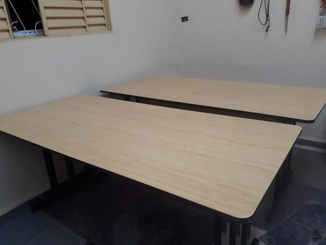 2 mesas para escritório - Foto 4