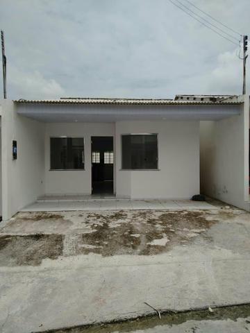 Casas no via norte, aceito carro ou moto como parte do pagamento - Foto 3