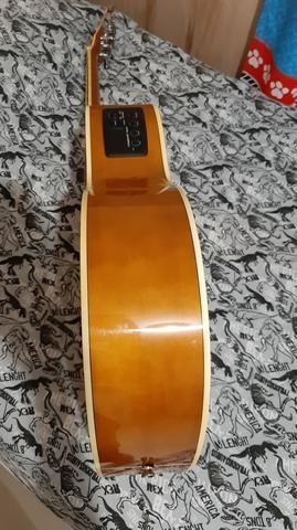 Vendo ou troco por play 3, violão tagima dallas para canhoto - Foto 5