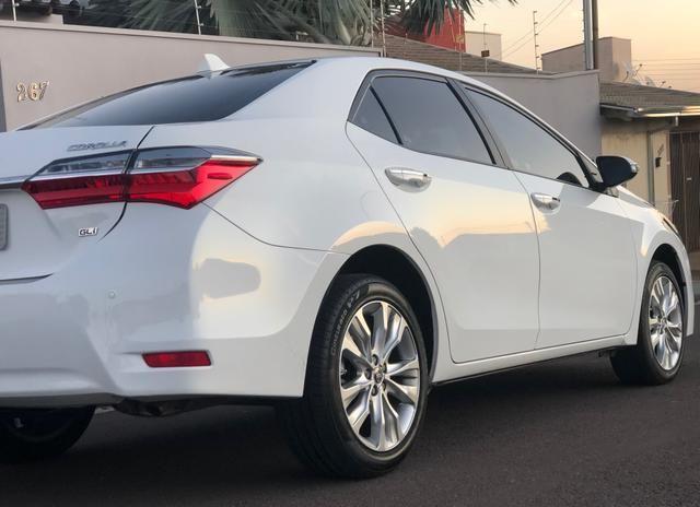 Corolla GLi 1.8 flex 2018, com apenas 24.000km - Foto 3