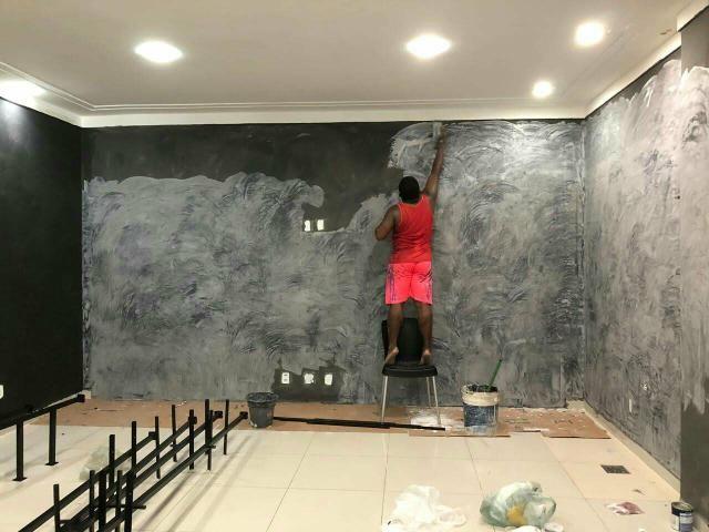 Pintor e eletricista