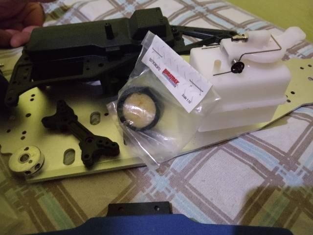 Kit Camisa, pistão e biela motor 18cc e peças de 1/10 - Foto 3