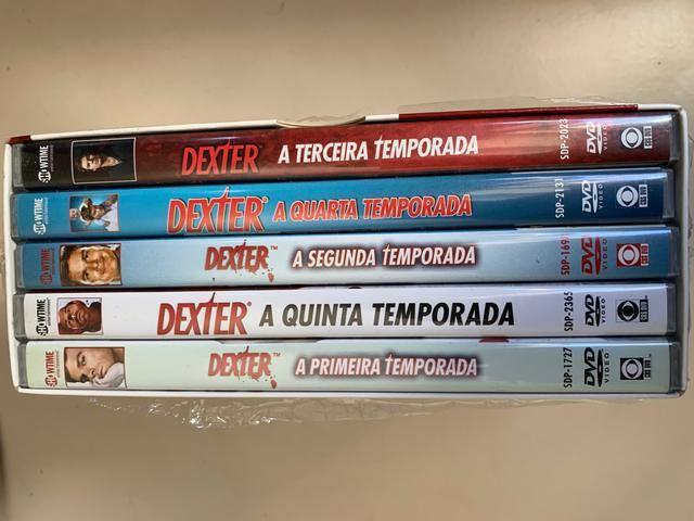 Box DVD Dexter 5 temporadas - Foto 2