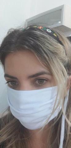 Mascaras de forro duplo (proteção corona) - Foto 3