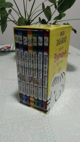 Coleção Diário de Um Banana box com 7 volumes bem novinho