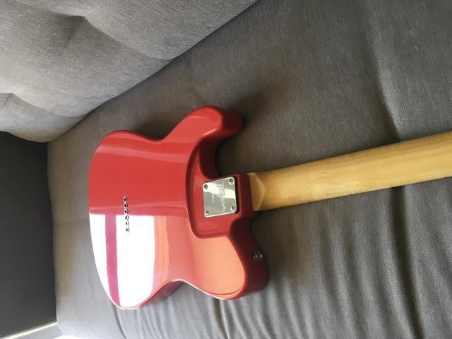 Guitarra Telecaster Tagima T-405 vermelha - Foto 4