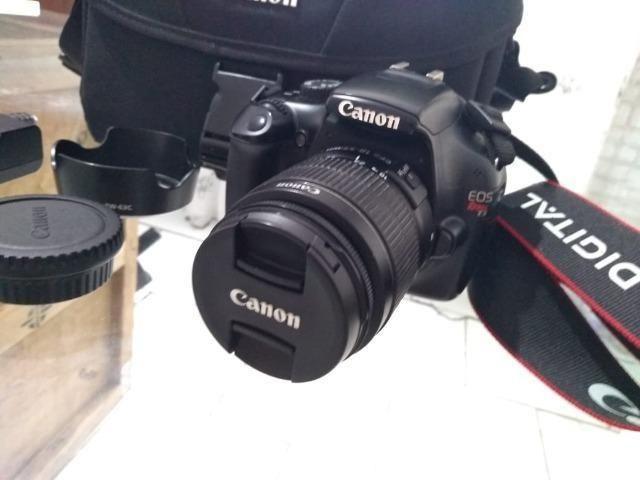 R$ 880 Câmera Semi Profissional Canon T3 (em Perfeito estado ) Entrego