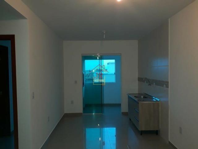 AL@-Apartamento com 02 dormitórios, 01 suíte, banheiro social, - Foto 6