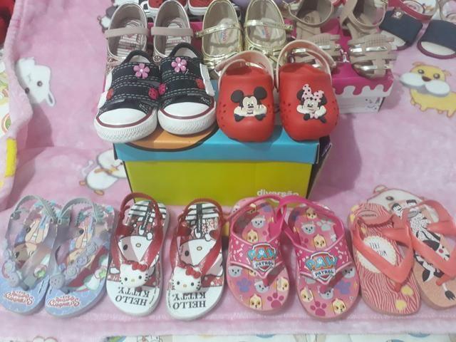 Lote de sapatos novos e usado - Foto 6