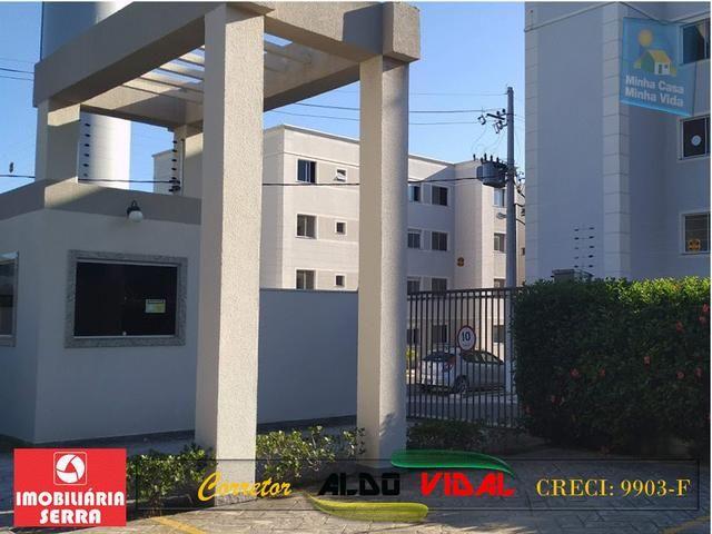 ARV 96 Apartamento Novo 2 Quartos, Condomínio Club. Carapebus, Serra - ES