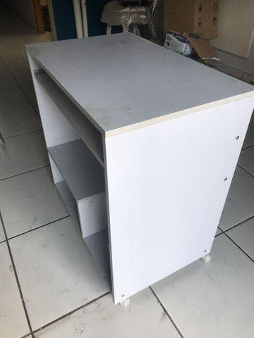 Mesa para computador cinza - Foto 4