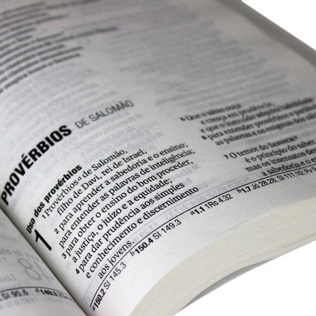 Bíblia Sagrada Letra Grande Nova Almeida Atualizada Barata - Foto 3