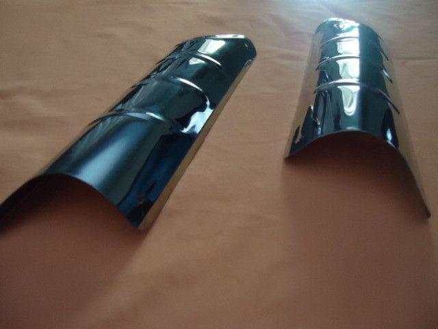 Acessório bate pé de coluna do fusca ( inox ) - Foto 4
