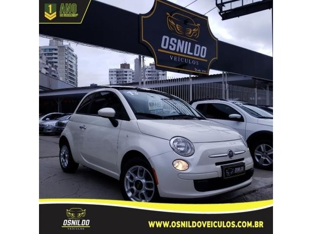 Fiat 500 Cult 1.4 Flex 8V Evo Dualogic Flex 2013