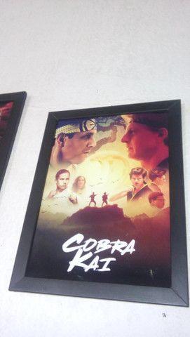 Quadros Karate Kid e Cobra Kai - Foto 4