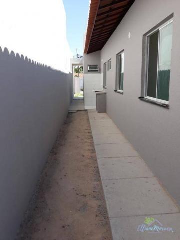Casa com 3 dormitórios à venda, 85 m² por R$ 249.000,00 - Encantada - Eusébio/CE - Foto 14